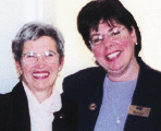 Ellen Scalzo and Peggy Soule.